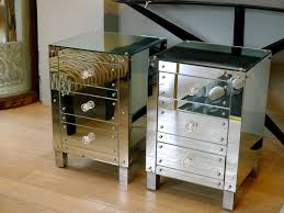 Image of: mirrored bedside tables perth