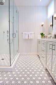 Modern Bathroom Floor Tiles Honeycomb Tile With Marble In Pattern Inside Innovation Design