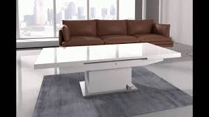 turn coffee table into dining table