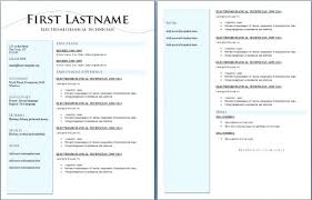 Resume Two Pages Foodcityme Cool Resume 2 Pages