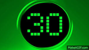 30 Sec Green Countdown Timer 30 Sec V 188 Led Clock Timer With
