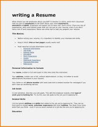 How To Type References For Resume Resume What Is Resume For Work Photo Ideas How To Write