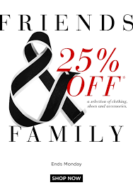 friends family is in full swing 25 off in s saks fifth avenue email archive