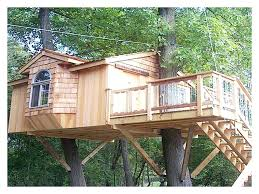 free tree house designs freestanding treehouse plans