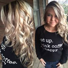 Long Highlighted Blonde Hair With Chunky