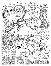 Nightmare Before Christmas Coloring Pages Saglikme