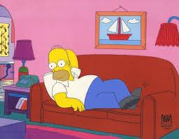 Kuvahaun tulos haulle homer simpson on couch