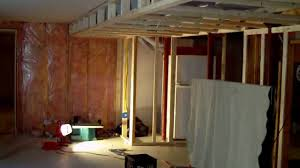 unfinished basement ceiling ideas. How To Build A Finished Basement With Ceiling Soffit Great Ideas Part 1 - YouTube Unfinished