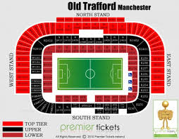 Curious Arsenal Seating Chart Old Trafford Detailed Seating