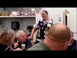 Assistant Manager Toni Sings I Want A Hippopotamus For Christmas Dec