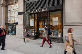eataly nyc la scuola di eataly image bluemountain capital management office tpg architecture
