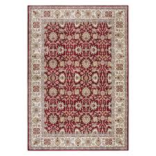 7'10X10'10 RIZZY HOME ZENITH RED AREA RUG