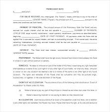 Promissory Note Template For Family Member Auto Promissory Note Template Word Free Vehicle