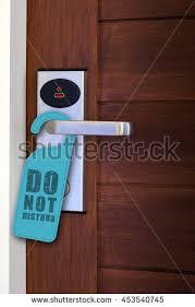 Hanger Do Not Disturb Sign On Stock Photo Edit Now Shutterstock