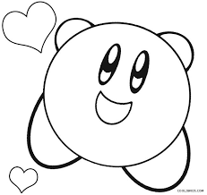 Sure, kirby may be pink, but who says you can't get creative and color him your own way? Printable Kirby Coloring Pages For Kids