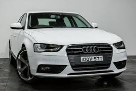audi a4 2014 white. 2014 audi a4 b8 8k my14 s tronic quattro white 7 speed sports automatic dual clutch