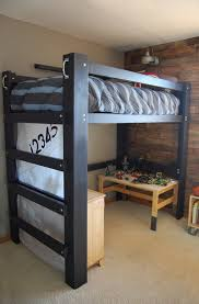 Diy Loft Bed With Lego Storage Work Space Jaime Costiglio