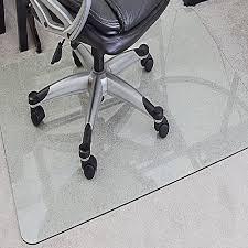 myglassmat tempered glass chair mat