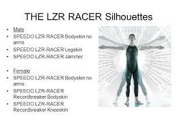 The Lzr Racer Silhouettes Male Speedo Lzr Racer Bodyskin No