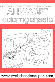 You can print all 26 alphabet pages, or just the letter of the week you are working on at th emoment. Free Printable Alphabet Coloring Pages Allfreekidscrafts Com