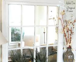 diy window pane mirror diy rustic window pane mirror