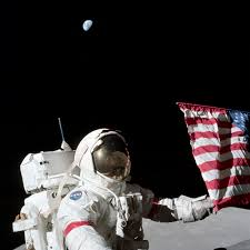 Image result for edgar mitchell left behind on the moon