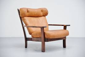 sergio rodrigues style ox lounge chair brazil 1960 up down