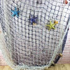 Decorative Fish Netting Fishing Net Decorative Net Cotton With Diverse Shell Decorations