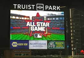logo for 2021 All-Star game at Truist Park