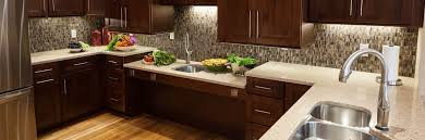 tile backsplash with quartz countertops