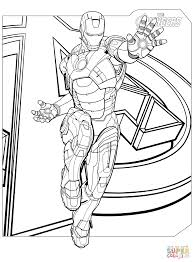 Avengers Coloring Pages Marvel S The Free 12401682 Attachment