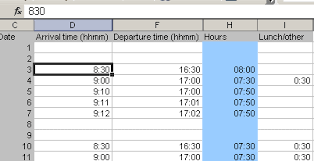 automatic timesheet justaddwater dk automatic excel time format without colon in input