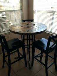 Breakfast bars furniture Wooden Garage Chairs Height Table From Reclamation Garage Reclamation Garage Wood Spool Bar Height Table And Breakfast Bars Tall Bistro Table And Chairs Outdoor Ikea Hackers Garage Chairs Height Table From Reclamation Garage Reclamation