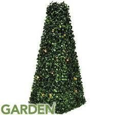 90cm 60 LED SOLAR TOPIARY TREE LIGHT GARDEN HOME PATIO DECORATION Artificial Topiary Trees With Solar Lights