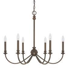 capital lighting 4746 alexander 6 light chandelier capital lighting soho
