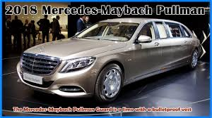 2018 mercedes benz maybach. Unique Maybach 2018 MercedesMaybach Pullman  The Guard Is A  Limo With Bulletproof Vest For Mercedes Benz Maybach I