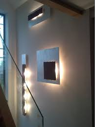 feature wall lighting. Main Staircase, Feature Wall Lighting Contemporary