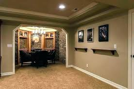 inexpensive unfinished ideas for basement walls covering