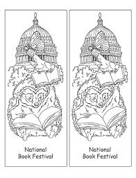 Small Picture Bookmarks Coloring Page