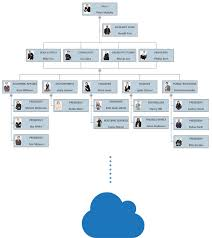 Org Chart Software For Large Companies Four Types Of Organizational Charts Functional Top Down