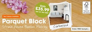 parquet block bamboo flooring