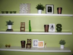 attractive pleasant accessories shelves decorating ideas decorating floating shelves ideas with white three tiers wall shelves
