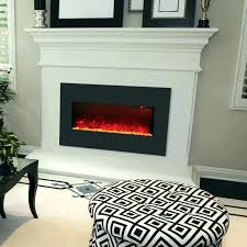 wide electric fireplace electric fireplace electric fireplace wall mount or built in led fire effect electric