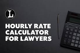 Lawyer Hourly Rate Calculator 2019 Lawyerist