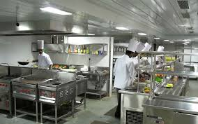 kitchen equipments infrastructure