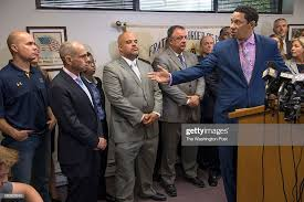 Ivan Bates , the attorney for Baltimore officers Alicia White... News Photo  - Getty Images