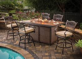 fire pit table with chairs. Bar Height Fire Pit Table Set With Bench Chairs B