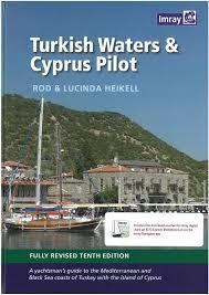 Yachtsman Chart Book Turkish Waters Cyprus Pilot
