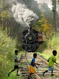 Image result for car on train tracks