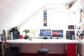 chic office space. Home Office Space Ideas Cool Attic Design Saving . Chic